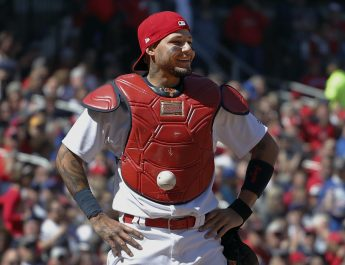Ball That Stuck To Molina Sold For $2,000 In Online Auction