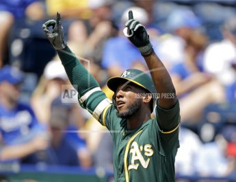 Profar Homers, A's Hold Off Royals 9-8 To Take 4-Game Series