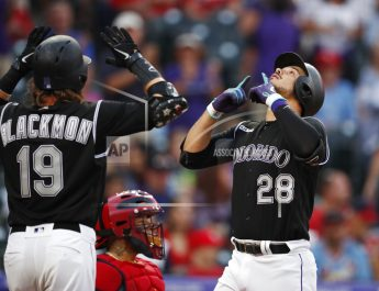 Arenando's 482 Foot HR Lifts Rockies Over Cardinals 2-1