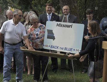 'Back The Blue' Missouri License Plate Unveiled
