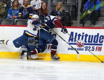 Kadri, MacKinnon Lead Avalanche To 7-3 Win Over Blues