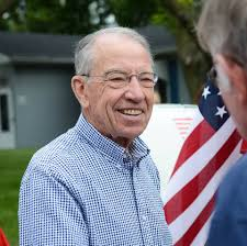 Leader McConnell Highlights Senator Chuck Grassley's Voting Record & Service to Iowans