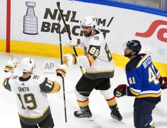 Vegas Dominates St. Louis 6-4, One Win From West's Top Seed
