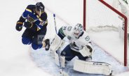 Horvat Scores Twice, Canucks Beat Blues 5-2 In Series Opener