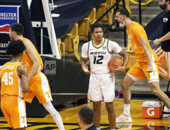 No. 12 Mizzou Suffers First Loss of Season, Falling 73-53 to No. 7 Tennessee